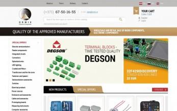 Website development for Ormix